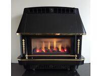 Robinson Willey Firecharm 3.52 KW Freestanding Gas fire (Black)