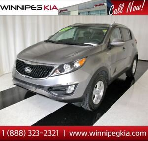2015 Kia Sportage LX *Accident Free! Certified Pre-Owned!*