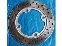 GENUINE HONDA REAR BRAKE DISC FOR CB / CBR600 / VTR1000 / BLADE ETC