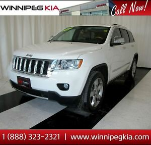 2012 Jeep Grand Cherokee Overland *No Accidents! Loaded!*