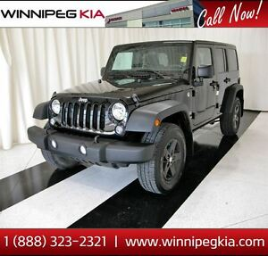 2015 Jeep WRANGLER UNLIMITED Sport *No Accidents!*
