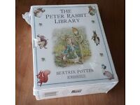 Beatrix Potter Peter Rabbit Library Boxed Set of 10 Books
