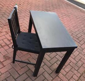 Table and one chair for free