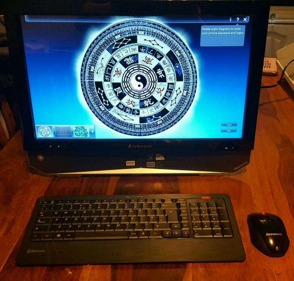 Touchscreen 21.5 inch pc