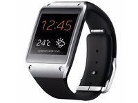 Mint black Samsung galaxy Gear smart watch for swap or sale