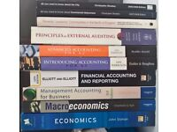 Economics, Accounting, Auditing, Management Books Clearout worth over £200 RRP all in good condition