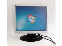 17 Inch Monitor - Acer (AL1715) + VGA Lead (Gaming PC, Graphics Card, Desktop PC, TV, LCD, TFT)