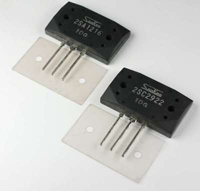 2sa12162sc2922 Sanken Audio Power Transistor Pnpnpn Pair With Mica Insulators