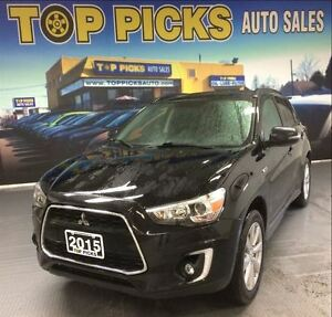 2015 Mitsubishi RVR GT, AWD, LEATHER, GLASS ROOF, NAVIAGTION!