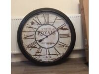 Wall clock, completely brand new in its box.