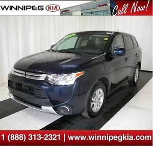2015 Mitsubishi Outlander ES *Heated Front Seats & More!*