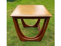 x2 retro G plan side table tables nest