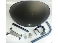 New Sky Satellite Dish Zone 2 Dish Face & Bracket pack Freesat sky polsat NC+
