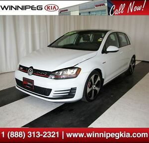 2015 Volkswagen Golf GTI Autobahn *Loaded w/ Navi., Sunroof & Mo