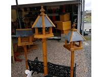 Wooden bird tables great quality many different styles and sizes