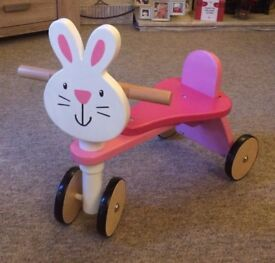 Bunny Ride on Trike (Early Learning Centre) Excellent Condition