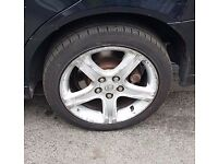 Lexus Alloy wheels good condition with almost new tyres fits most toyota Models as well
