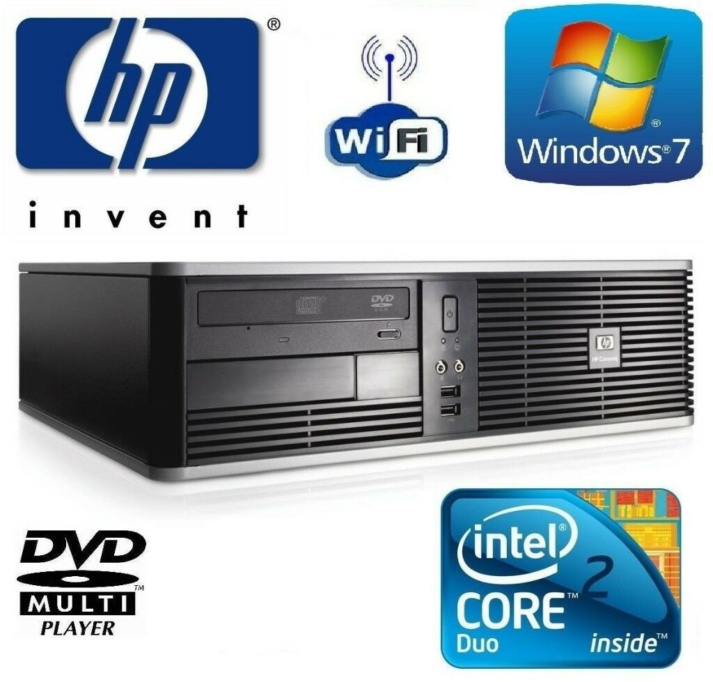 HP COMPAQ 6005 Pro SFF PC AMD Athlon II x2 300GB,4GB RAM WIN 7 PRO 64-BIT |  in Leyton, London | Gumtree