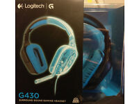 Logitech G430 Headset (7.1 surround + mic)