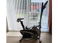 Dual Cross Trainer & Exercise Bike - Fitnessform X10 model