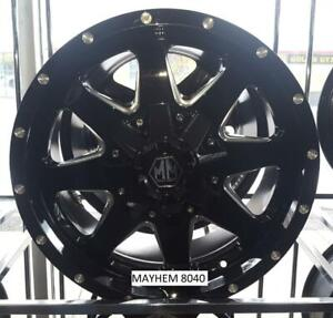 Wheel Sale - New & Previously Mounted 16, 17, 18, 20