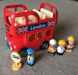 ELC Happyland London Bus and Figures