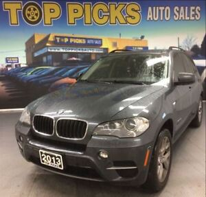 2013 BMW X5 35I, AWD, LEATHER, PAN ROOF, NAV, AND MORE!