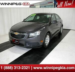 2011 Chevrolet Cruze LT Turbo *Leather Int., Htd. Seats & More!*