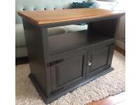 TV cabinet solid pine