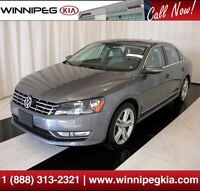2012 Volkswagen Passat *Luxury Line Leather & Suede Interior!*