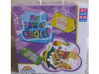 My box of Crafts - over 500 pieces for ages 4-12.