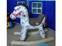 Mamas and papa's rocking horse in almost perfect condition