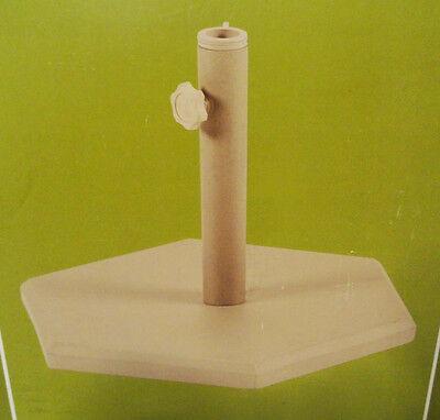GARDEN~PLATE~BASE STAND~FOR PATIO UMBRELLA~OUTDOOR~HEAVY DUTY~GRANITE~CAST IRON - Granite Umbrella Base