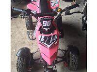 Childs 49cc mini quad