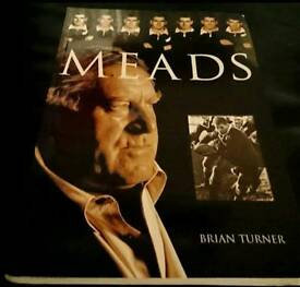 Allblacks legend Colin Meads hand signed autobiography 1st edition very RARE with Coa