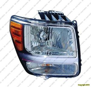 Head Lamp Passenger Side Dodge Nitro 2007-2011