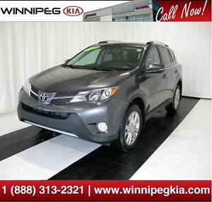 2013 Toyota RAV4 Limited *Loaded w/ Sunroof, Htd. Seats & More!*
