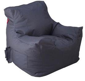 Large Black Beanbag Chair