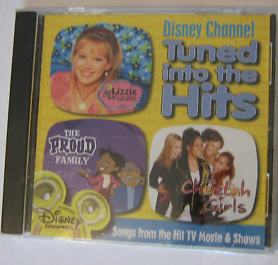 TUNED INTO THE HITS DISNEY CHANNEL SHOW MUSIC
