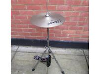 Drums - Stagg Hi Hat Stand - Optional Hi Hat Cymbals