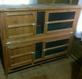 Large double hutch