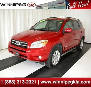 2008 Toyota RAV4 Limited *Sunroof & Much More!*