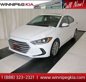2017 Hyundai Elantra GLS *Heated Front & Rear Seats! Sunroof!*