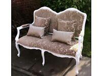 Louis style / shabby chic sofa.