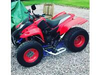 Ktm exc 300/350 or more 2 stroke only wanting to swap my racing 500cc quad bike down as 200cc
