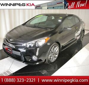 2015 Kia Forte Koup SX *Always Owned In MB! Low KM!*