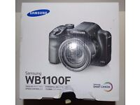 Samsung WB1100F 16.4MP WiFi NFC 35x Optical Zoom Digital Smart Camera + 1Yr International Warranty