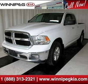 2014 Ram 1500 SLT *Crew Cab, 4x4, Trailer Hitch & More!*