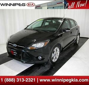 2013 Ford Focus Titanium *No Accidents! Heated Seats, Sunroof &