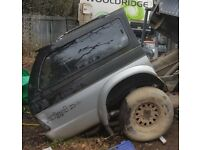 TRAILER 4X4 OFF ROAD, BACK END OF MITSUBISHI L200, NOT HILUX NAVARA RANGER RODIO B2500